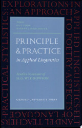 Principle and Practice in Applied Linguistics