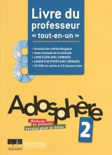 Adosphere 2 A1 + A2 Professeur (Ελληνικη Εκδοση)