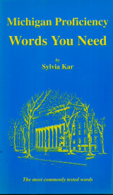 Michigan Proficiency - Words you need