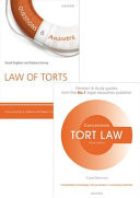 Tort Law Revision Pack 2015