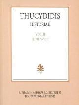 Thucydidis historiae, vol. II, libri V-VIII (Θουκυδίδου ιστορίαι, τόμος Β', βιβλία 5-8)