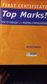Top Marks! Use of English and Reading Comprehension