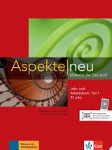 Aspekte neu B1 plus. Mittelstufe Deutsch. Lehr- und Arbeitsbuch mit Audio-CD