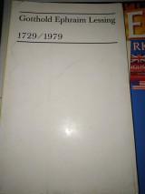 Gotthold Ephraim Lessing, 1729/1979