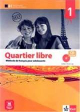 Quartier Libre 1 Cahier (+ Audio Cd)