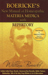 New Manual of Homoeopathic Materia Medica & Repertory with Relationship of Remedies